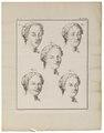 Homo sapiens - gezichtsuitdrukking - 1700-1880 - Print - Iconographia Zoologica - Special Collections University of Amsterdam - UBA01 IZ19600057.tif