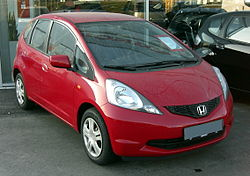 2009 Honda Fit (Europe)