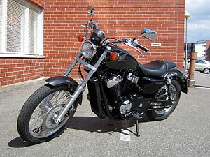 English: Honda VT750S Shadow (RS), year 2011. ...