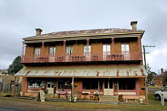 Hill End, New South Wales - Image: Hosies Bedbreakfast