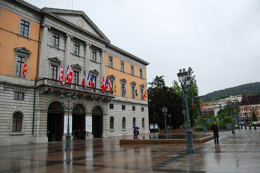 Hotel de Ville in Annecy