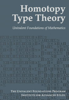 Homotopy type theory variant of type theory incorporating the univalence axiom of Voevodsky