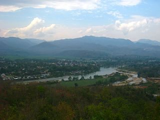 Hsipaw Town in Shan State, Myanmar