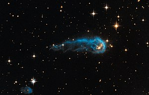 Interstellar medium - Image: Hubble sees a cosmic caterpillar