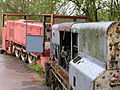 Hudswell Clarke 0-6-0DM mining locos, Clearwell Caves, Forest of Dean 18.04.04 P1010028 (10210402836).jpg