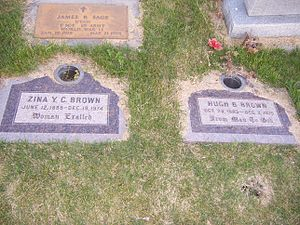 Hugh B. Brown - Image: Hugh B Brown Grave 2