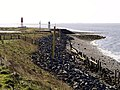 Humber Beach and small Lighthouses near Paull - geograph.org.uk - 736960.jpg