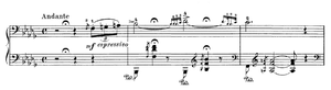 English: Extract from the Liszt Hungarian Rhap...