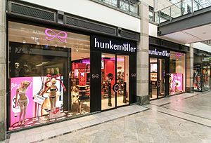 Hunkemöller - Hunkemöller store in Oberhausen