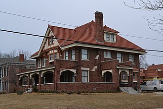 National Register of Historic Places listings in Clay County, Missouri - Image: Hunt Clarke House, Liberty, MO