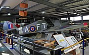 Hurricane at Spitfire and Hurricane Memorial Museum.jpg