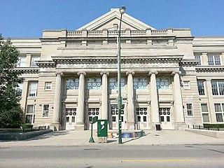 Hyde Park Academy High School school in Chicago, Illinois