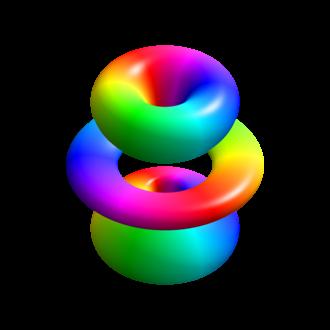 Hydrogen atom - Image: Hydrogen eigenstate n 4 l 3 m 1