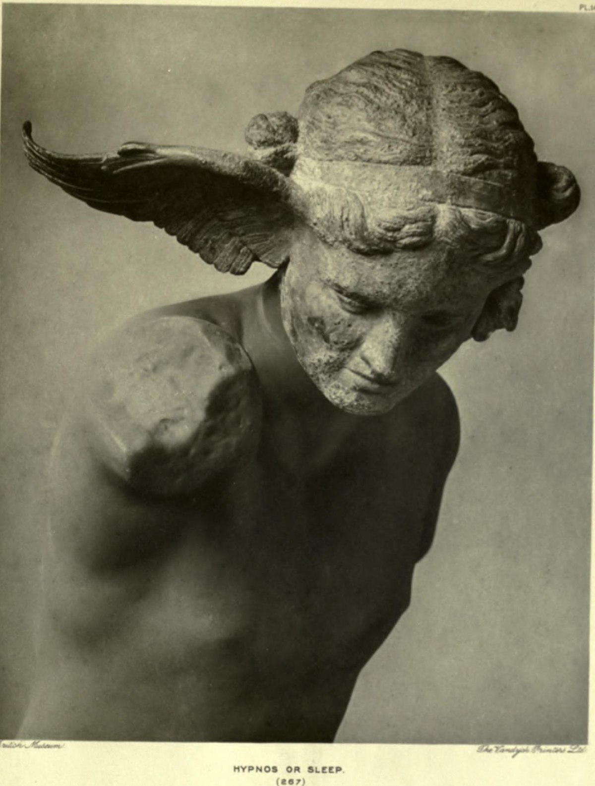 Древнегреческий бог гипнос