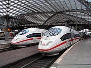 ICE 3 im Kölner Hauptbahnhof