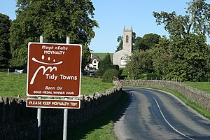 Tidy Towns (Ireland) - Moynalty won Gold Medal in 2006. It would go on to win the 2013 Tidy Towns competition.