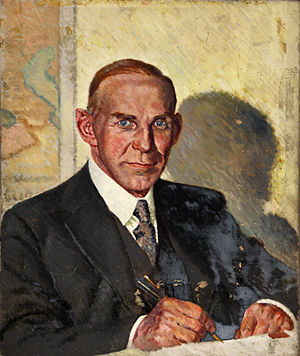 Aldershot (UK Parliament constituency) - Image: INF3 13 Earl of Selborne Artist William Little 1939 1946