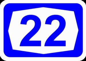 Highway 75 (Israel) - Image: ISR HW22