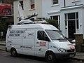 ITN Outside broadcasting van on Belsize Road - geograph.org.uk - 741712.jpg