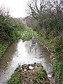 Icy puddles on track - geograph.org.uk - 1077695.jpg