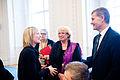 Ida Auken, miljominister Danmark, Lena Ek, miljominister Sverige och Erik Solheim, miljominister Norge. Nordiska radets session 2011 i Kopenhman.jpg