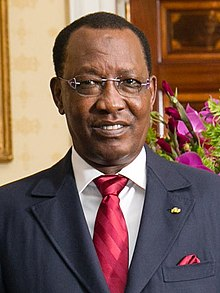 Idriss Déby at the White House in 2014.jpg