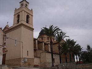 Godelleta - Image: Iglesia de Godelleta alfa