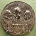 Ignoto, duchi ernst, wilhelm e ferdinand di wittelsbach, argento, 1577.JPG