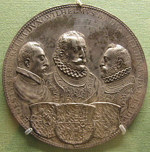 Ferdinand of Bavaria (soldier) - Medal of the brothers Ernst, Wilhelm and Ferdinand of Wittelsbach