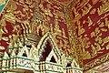 Impressive red-gold art work above the main entrance (14604866122).jpg