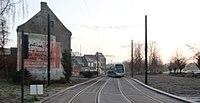 Inauguration de la branche vers Vieux-Condé de la ligne B du tramway de Valenciennes le 13 décembre 2013 (016).JPG