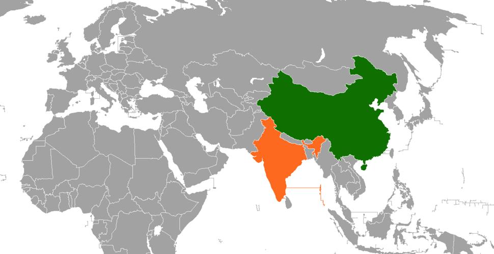 India China Locator