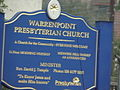 Information Board at Warrenpoint Presbyterian Church - geograph.org.uk - 1535186.jpg