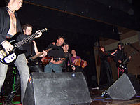Inkubus Sukkubus string section August 2005.jpg