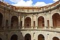 Interior courtyard - Villa Farnese - Caprarola, Italy - DSC02221.jpg