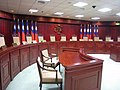 Interior in Constitutional Court, Judicial Yuan 20090706.jpg