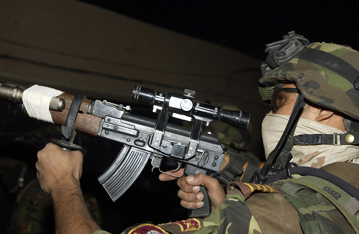 Tabuk Sniper Rifle - Wikipedia