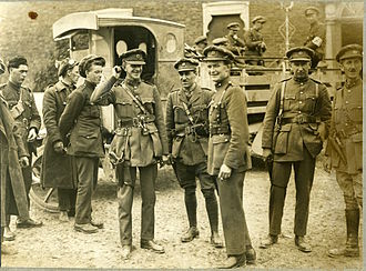 Fionán Lynch - Lynch (second from the right) during the Irish Civil War