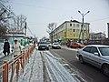 Irkutsk. February 2013. Cinema Barguzin, regional court, bus stop Volga, Diagnostic Center. - panoramio (16).jpg