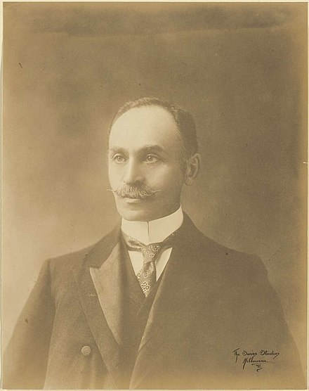 Isaacs during his time as a federal MHR IsaacIsaacs1900s.jpg