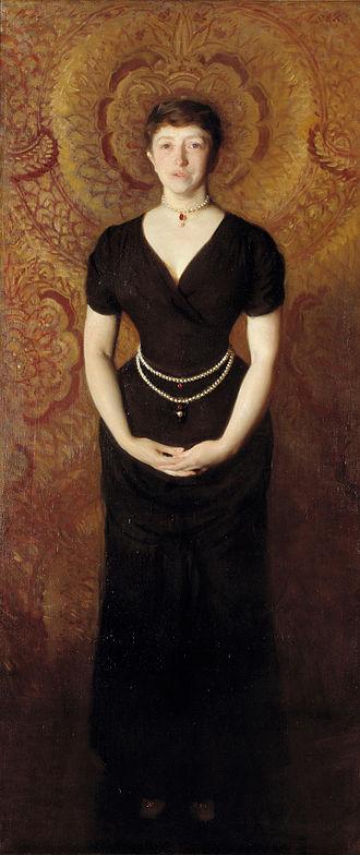 Isabella Stewart Gardner - Isabella Stewart Gardner (1888), by John Singer Sargent.