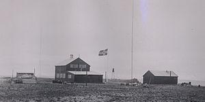 Isfjord Radio - Isfjord Radio in 1933