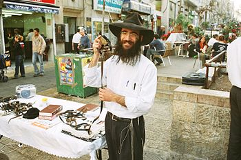 Israel 3 009.Religious Jew on a Daily-Market.jpg