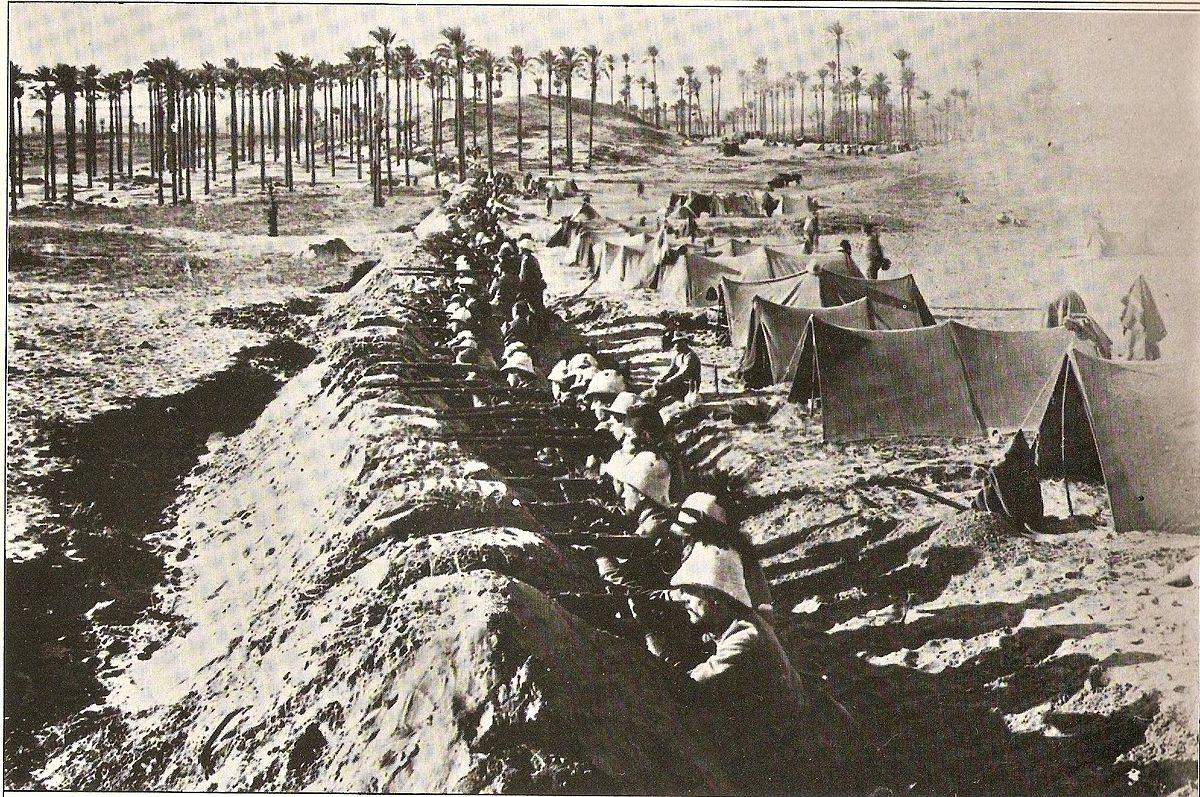 File:Italian infantry entrenched near Tripoli.jpg - Wikimedia Commons