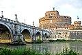Italy-0066 - Ponte Sant'Angelo & Castel Sant'Angelo (5121097817).jpg