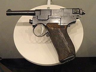 Glisenti Model 1910 service pistol