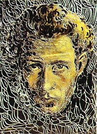 Self portrait of ivan milev