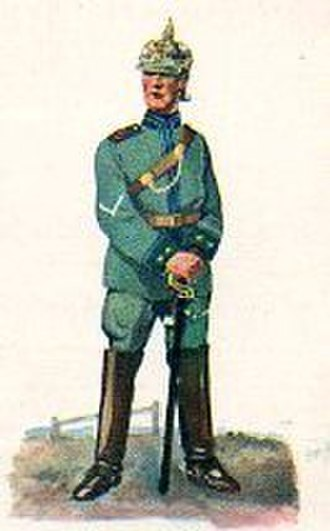 6th Mounted Rifles - Jäger des Jäger-Regiment zu Pferde Nr. 6