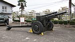 JGSDF 105mm Howitzer M2A1(Type 58 105mm Howitzer) right front view at Camp Nihonbara October 1, 2017 01.jpg