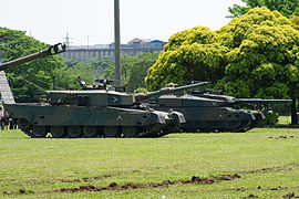 Type 90 Left And 10